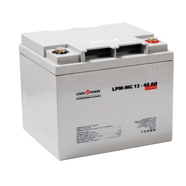 Гелевый аккумулятор 12в производителя LogicPower