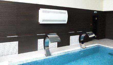 Осушитель воздуха для бассейна Dantherm CDP