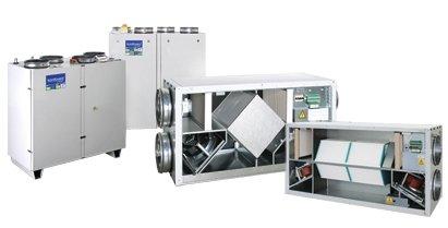 Приточно-вытяжные вентиляционные установки Komfovent