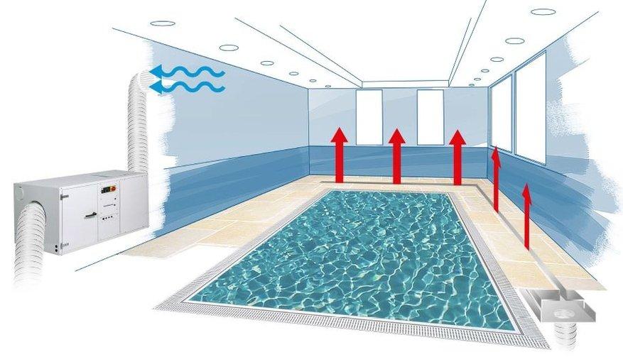 Выбор осушителя воздуха для бассейна