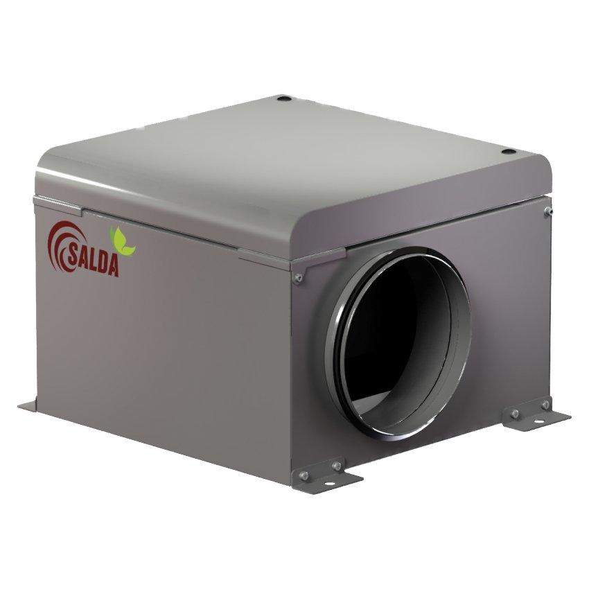 Salda AKU - вентилятор в шумоизолированном корпусе