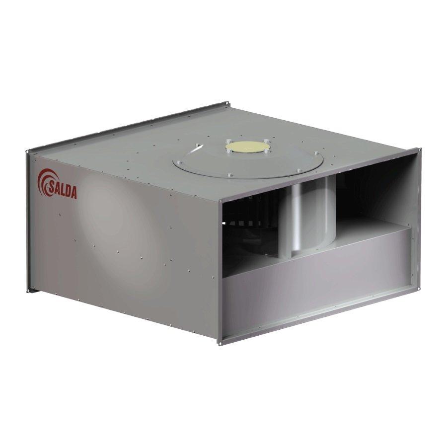 Канальный вентилятор Salda для прямоугольных воздуховодов