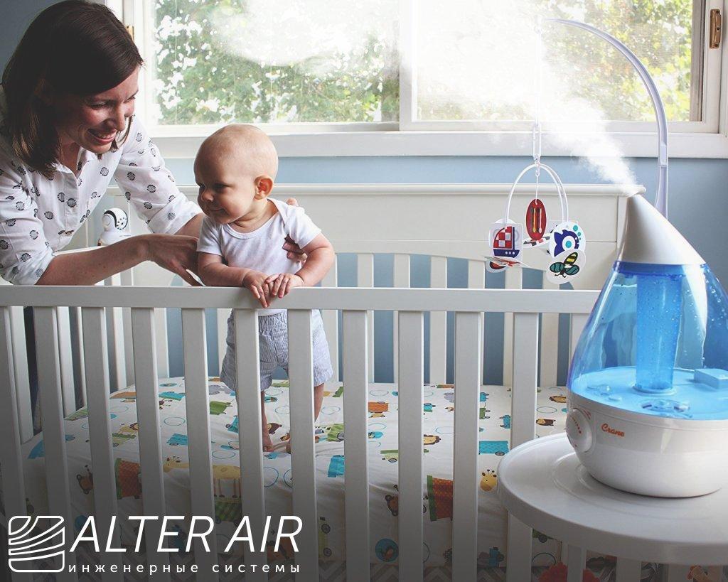 Очищення повітря в дитячій кімнаті
