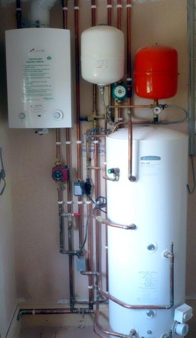 Газовый котёл в системе отопления частного дома